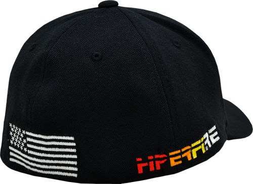 Black Flex Fit Cap w/ US Flag