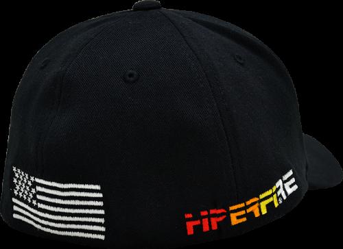 Black Flex Fit Cap w/ US Flag